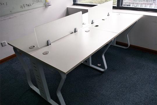 简约员工办公桌、电脑桌