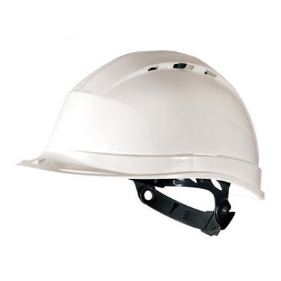 代尔塔 102012 通风款石英1型高密度聚丙烯(PP)安全帽 QUARTZ 1