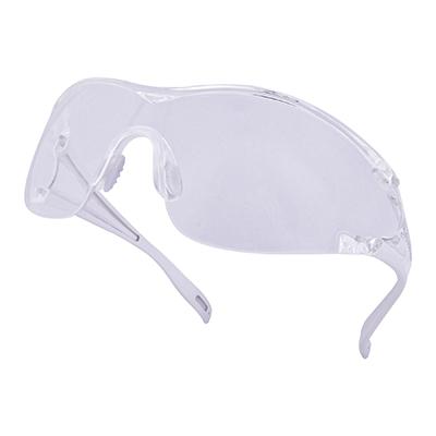 代尔塔 101128 时尚全贴面圆弧款防护眼镜 EGON CLEAR