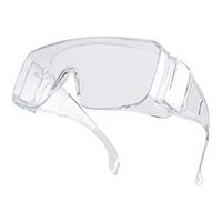 代尔塔 101131 整片式访客眼镜 MEGA CLEAR