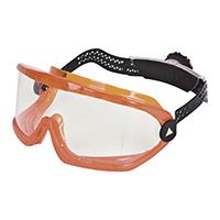 代尔塔 101157 高强度防化护目镜 SABA