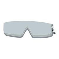 代尔塔 101140 镜片保护膜 FILM GOGGLE