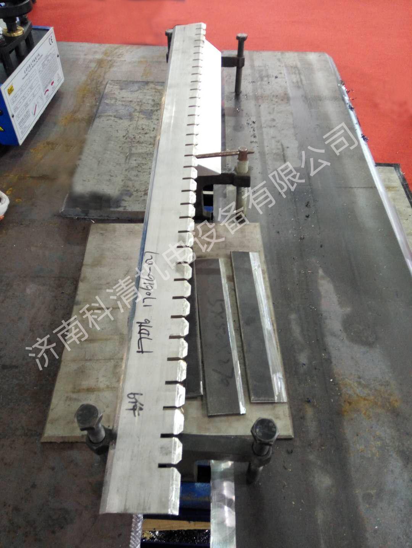 农用机械及工程机械行业锯齿状钢板开坡口