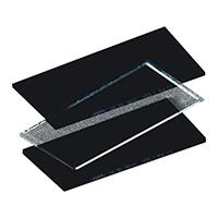 代尔塔 101511 焊接面屏替换片 FILTERKIT10