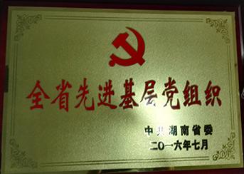 全省先进基层党组织