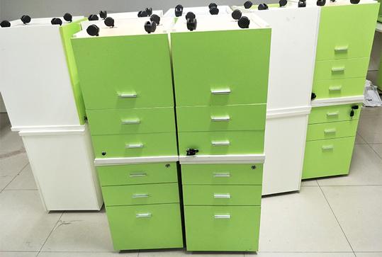 小巧型员工办公小推柜、储物柜