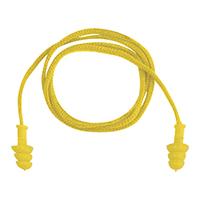 代尔塔 103119 可重复使用TPR带线耳塞 CONICFIR050