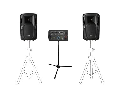 便携式组合音响系统  PAP系列
