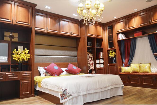 实木樱桃卧室