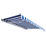Heavy-duty curved awning SCYP-01