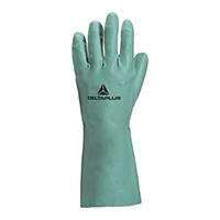 代尔塔 201802 舒适型丁腈防化手套 VE802