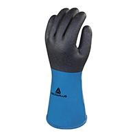 代尔塔 201837 PVC涂层棉绒手套 VV837