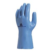 代尔塔 201920 舒适型天然乳胶防化植棉手套 VE920