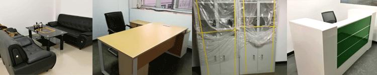 合步二手会议桌安装服务案例——电商类公司吴总