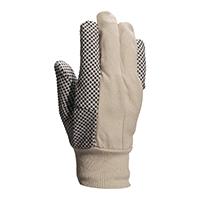 代尔塔 208007 PVC点塑棉质手套 CP149