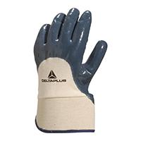 代尔塔 201170 安全袖口重型丁腈掌背涂层手套 NI170