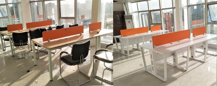 合步二手会议桌安装服务案例——金融类公司昊总