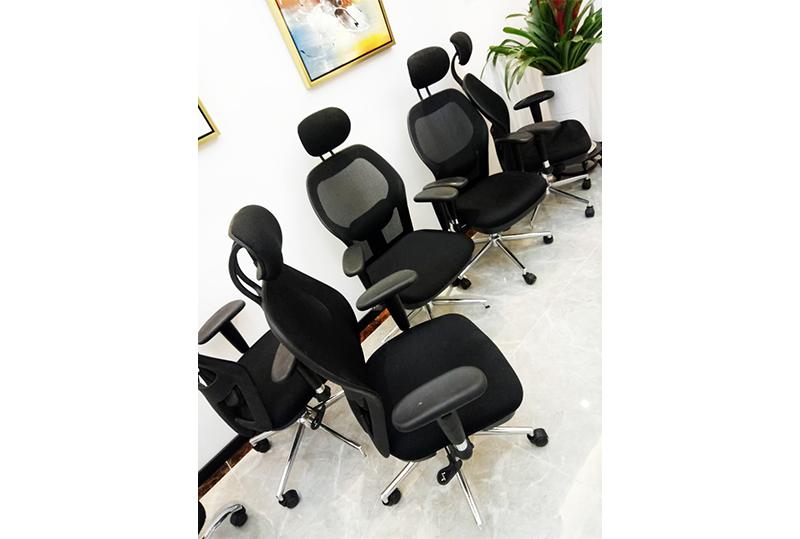 人体工位舒适员工办公座椅