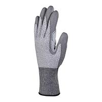 代尔塔 202022 指尖及掌面PU涂层防割手套 VENICUT5X1