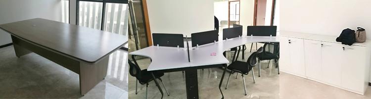 合步二手会议桌安装服务案例——运输业公司林总