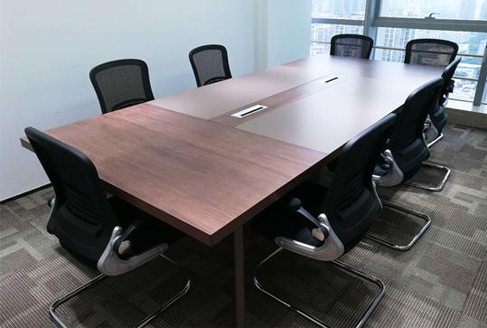 现代简约大型长桌办公会议桌