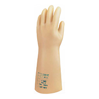 代尔塔 207000 天然乳胶绝缘手套 GLE00
