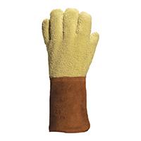 代尔塔 203007 芳纶毛圈布高温防切割手套 GFK58H