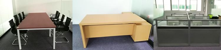 合步二手会议桌安装服务案例——仓储业公司彭总