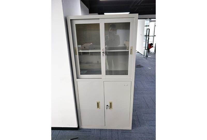 2开门铁皮办公文件柜、储物柜