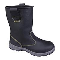 代尔塔 301404 黄色线高帮安全鞋 ONTARIO S1P