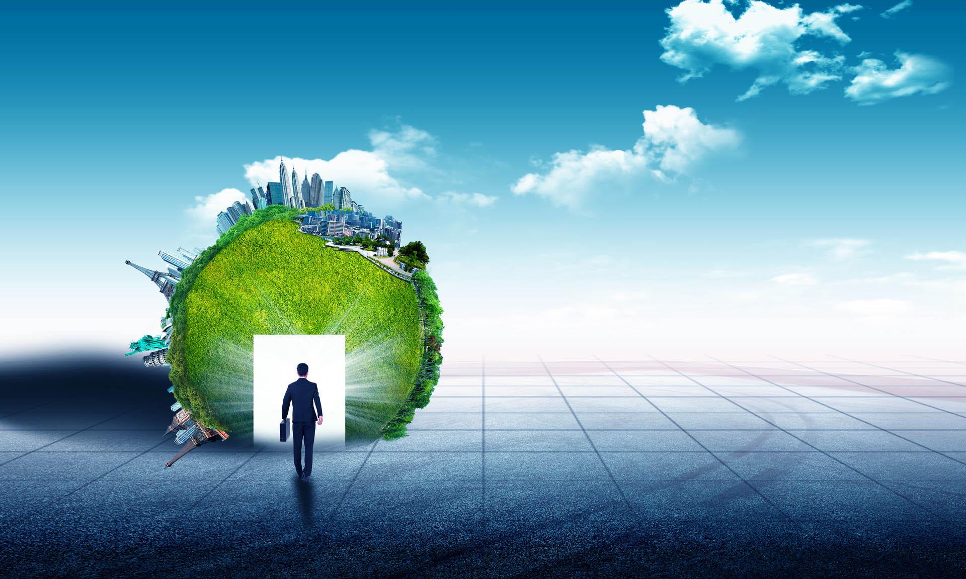 环保公司简介图片素材