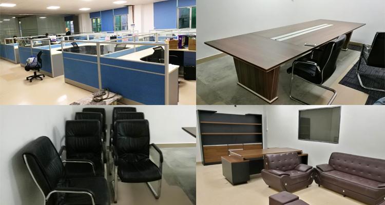合步二手会议桌安装服务案例——管理咨询类公司马总