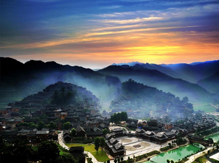 畅游贵州世界级三大景区 世界自然遗产地-荔波大七孔风景区,国家5a
