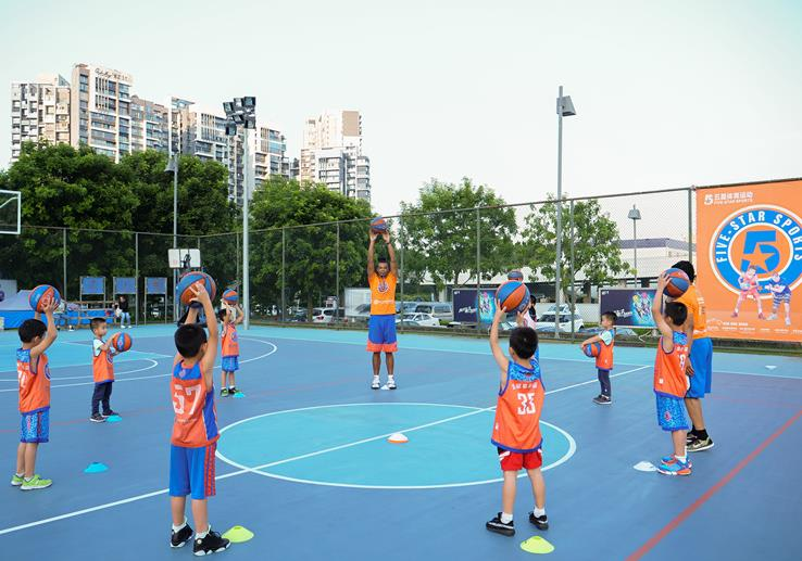 五星家长篮球锻炼体验免费专场