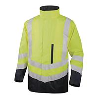 代尔塔 404010 3合1式PVC涂层涤纶牛津布荧光风雪衣 OPTIMUM2