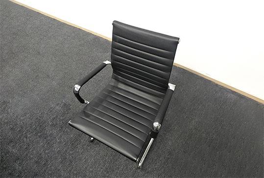 黑色时尚简约条纹办公椅
