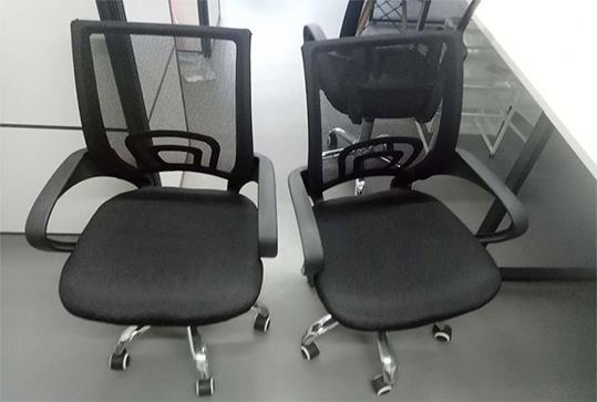 时尚回字型靠背办公转椅