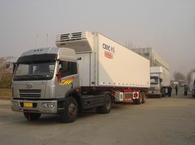 陕西圣融达物流公司保温冷藏br88冠亚网页服务