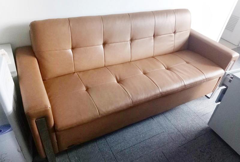 棕色独立常规办公沙发
