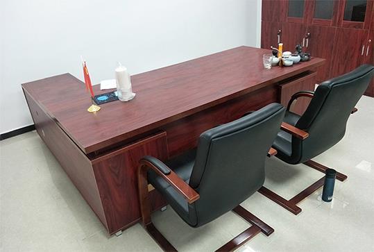 红棕色大气版面大班台、经理桌