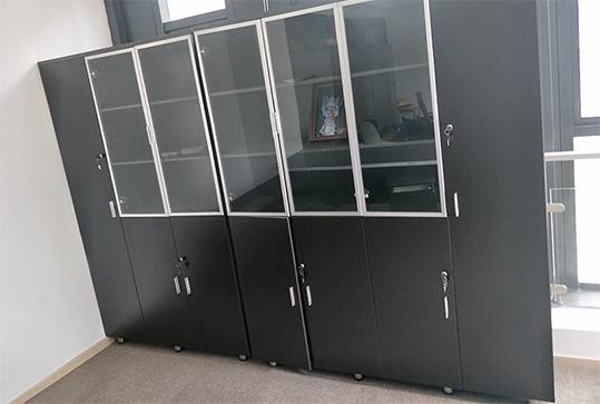 黑色大气文件柜、档案柜