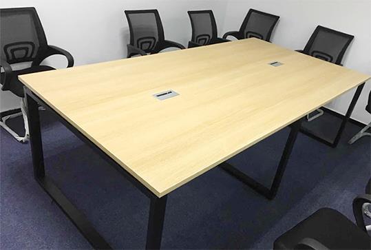 时尚木纹大气办公会议桌