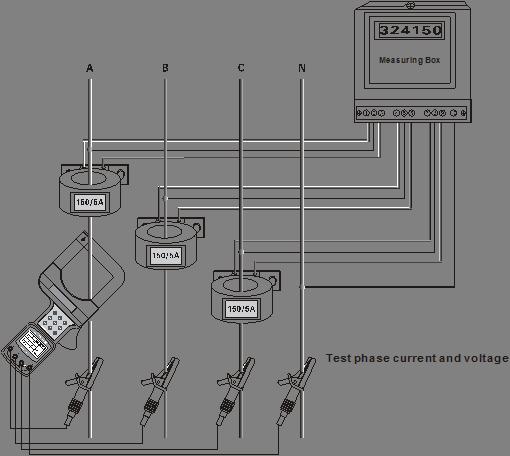 ETCR7000B Large Caliber Clamp Current Meter
