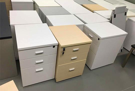 时尚三抽办公文件柜