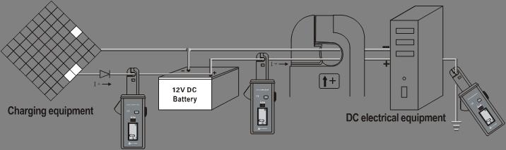 ETCR6000 AC/DC Clamp Leakage Current Meter