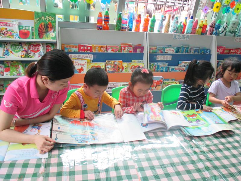 世界读书日,康雅幼儿园的宝宝们赴一场悦读之约