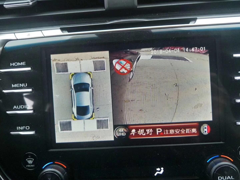 【最新版丰田凯美瑞】安装车视野360°全景