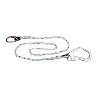 代尔塔 503320 安全绳加大小钩2米 LO007180CD