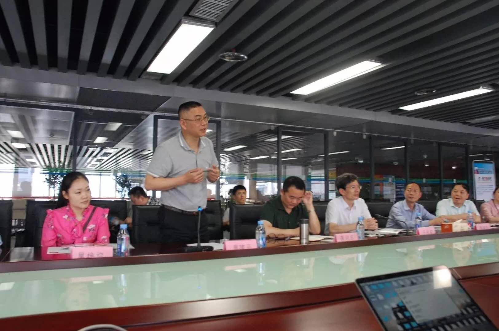 【動態】宜春市黨政領導一行蒞臨華傲數據
