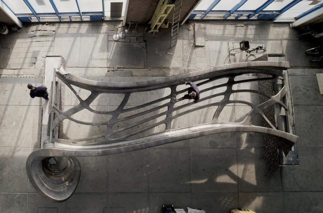 科技感爆棚:铁骨铮铮的3d打印大桥